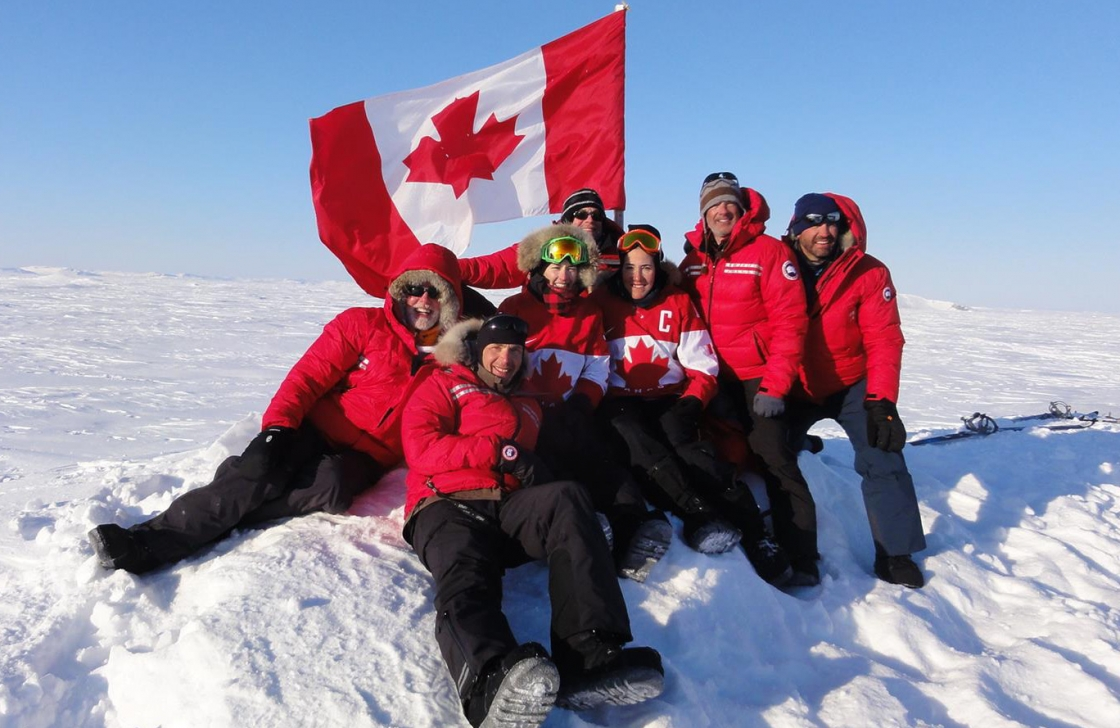 Canadians at North Pole